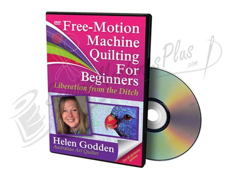 Quilting Dvds For Beginners by Free Motion Machine Quilting For Beginners Dvd