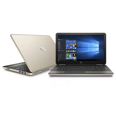 "hp pavilion 15 au020wm 15.6"" manhattan gold laptop"
