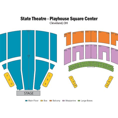 playhouse square seating hamilton mike epps march 23 tickets cleveland state theatre