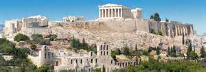 All About Athens by Landmarks Annotated Satellite View Of Acropolis Of
