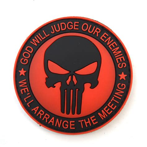 Patch Pacth Rubber Punisher Putih Patch Velcro the gallery for gt velcro patches