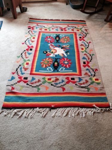 oaxacan rugs oaxacan mexican tribal zapotec 47 quot x 80 quot 1940 s 50 s rug navajo southwestern ebay for the
