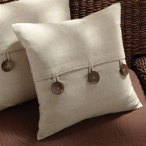 Pillows With Buttons by Button Up With Style Pillow Products I
