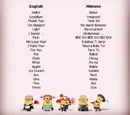 minion language funny goodbye sophistication funny language