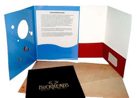 How To Make Paper Pocket Folders - 43 best folder printing images on los angeles