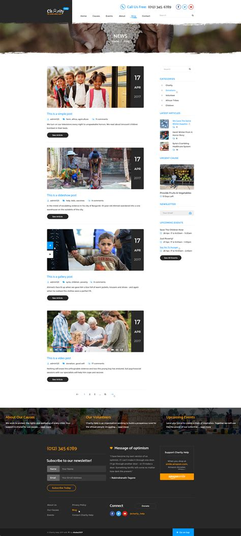 Smart Answers To Use On Annoying Charity Collectors by Charity Help Ngo Charity Fundraising Psd Template By