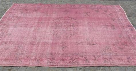 Dusty Pink Rug by Dusty Pink Overdyed Area Rug 9 X 6 S Bazaar