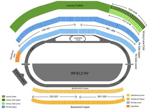 texas motor speedway seating map texas motor speedway seating chart and tickets