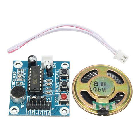 En Isd1820 Recording Module 1 isd1820 3 5v recording voice module recording and playback