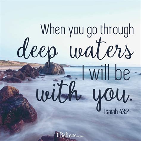 When You Go To The What Do You Indulge In by When You Go Through Waters God Is With You