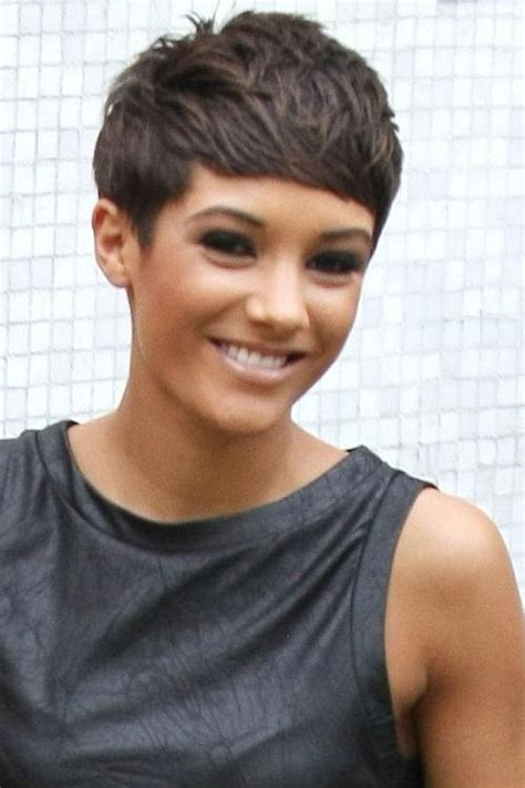 Frankie Sandford Hairstyles by 15 Ideas Of Frankie Sandford Feather Pixie Bob Hairstyles