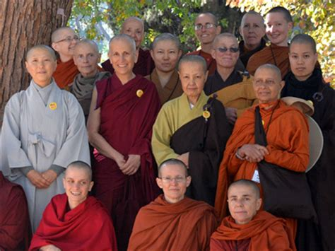 Dress Phing Phing western buddhist nuns