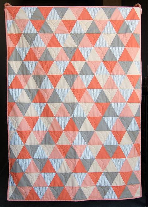 Triangle Template For Quilting by 17 Best Ideas About Triangle Quilt Tutorials On Triangle Quilt Pattern Baby Quilt
