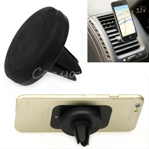 Bestmagnetic Car Air Vent Mount Holder For Smartphone Black Hita top quality universal car magnetic air vent mount holder