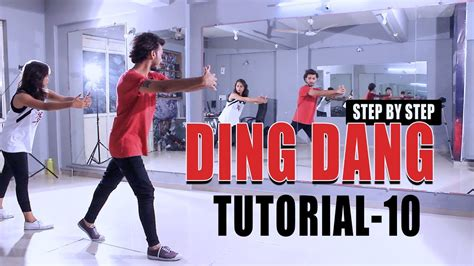 Tutorial Dance On Ding Dang | ding dang dance tutorial video vicky patel choreography
