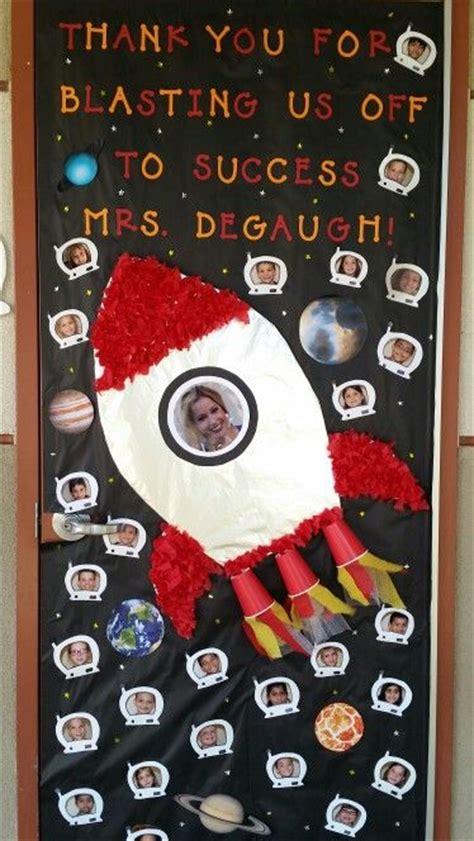 space themed door decorations best 25 doors ideas on class door