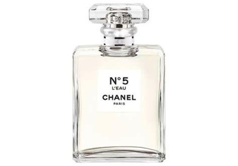 Fragrance Table L 5 chanel no 5 l eau fragrance review