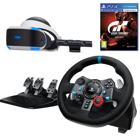 gran turismo 7 + logitech g29 playstation racing wheel