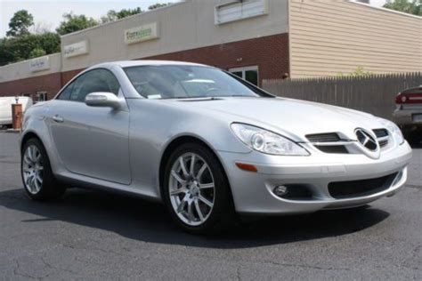all car manuals free 2007 mercedes benz slk class electronic toll collection purchase used 5spd manual sport pkg heat sts all books keys sticker immaculate warranty 49k in