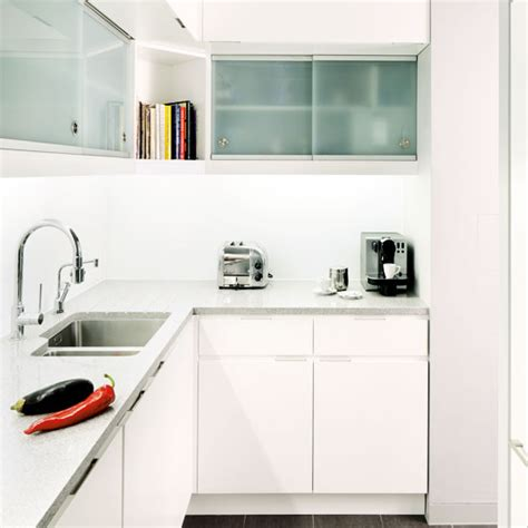white kitchen ideas for small kitchens small kitchen design ideas ideal home