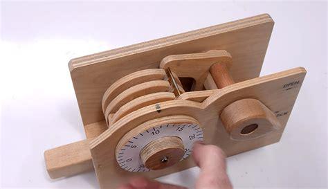 diy wooden combination lock  rad    secure