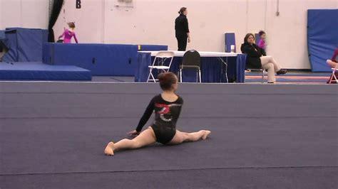 10 year gymnast floor routine gymnastics level 4 floor routine