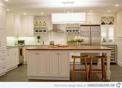 beautiful kitchen island 15 beautiful kitchen island with table attached