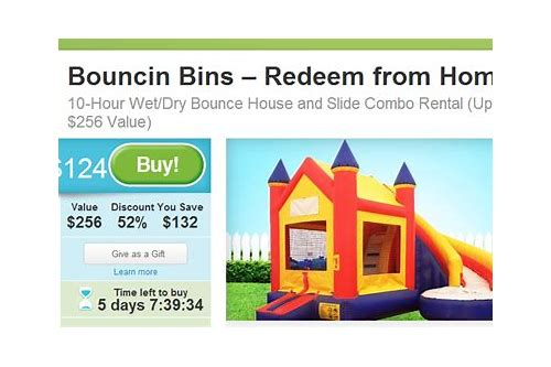 bounce house deals utah