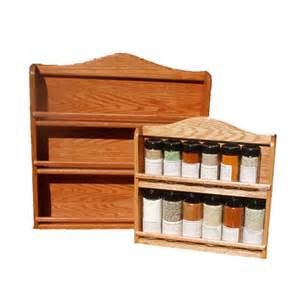 Spice Rack Large Spice Rack Cherry Stained Oak