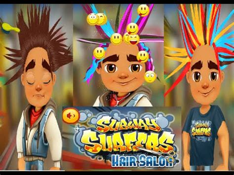 hairstyles games subway surfers subway surfers hair salon onlıne games youtube