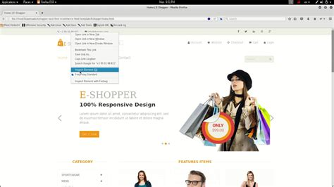 50 Free Responsive Html5 Css3 E Commerce Website Templates Youtube Ecommerce Website Templates Free In Html5 Css3