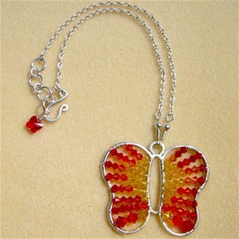 make swarovski jewelry tutorial swarovski and sterling silver butterfly