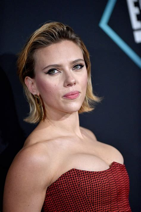 scarlett johansson peoples choice awards 2018 part ii