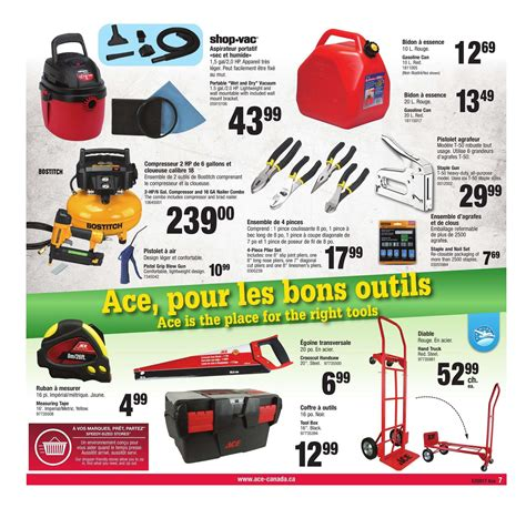 ace hardware bxc circulaire ace hardware canada avril 27 mai 7 2017