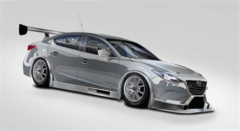 MARC confirms Mazda 3 V8 for Bathurst   Speedcafe