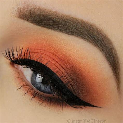 Eyeshadow Orange 10 best ideas about orange eyeshadow on