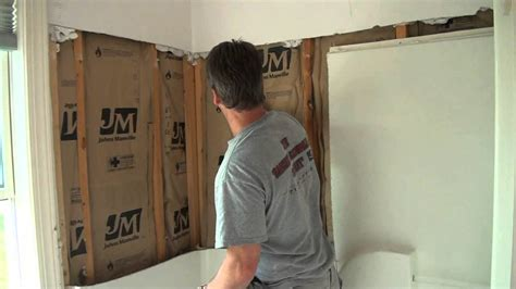 taking out bathtub and installing shower bathroom remodel removing a fiberglass shower youtube