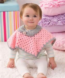 10 free crochet poncho patterns for babies the lavender chair