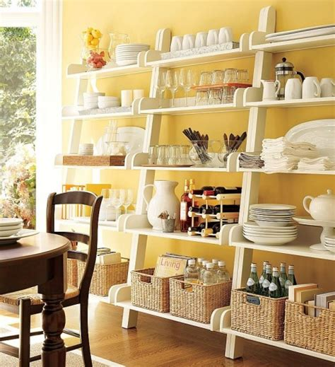 count it all kitchen open shelving