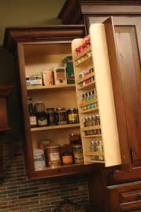 kitchen cabinet door storage racks cardinal kitchens baths storage solutions 101 spice