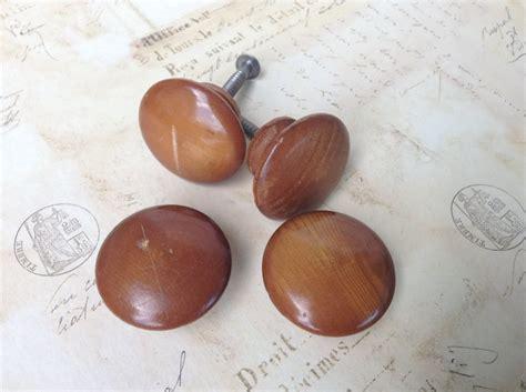 round wooden drawer pulls large wooden knobs set of four drawer handles round