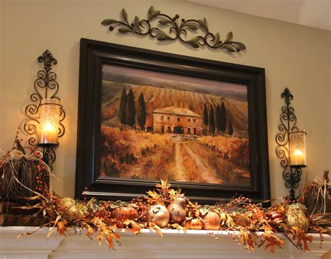 autumn decorations for the home the tuscan home fall decor