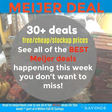 Dont Miss This Weeks Best Sales by 12 3 12 9 Meijer Deals You Don T Want To Miss This Week