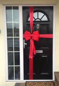 christmas door bows next day delivery