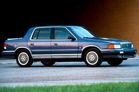 chrysler acclaim 1990 95 plymouth acclaim consumer guide auto