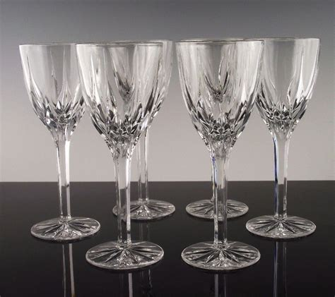 mikasa crystal barware apollo wine glasses by mikasa crystal from its a basketcase on ruby lane