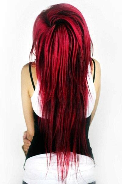 red hair with lowlights long red with black lowlights good hair day pinterest