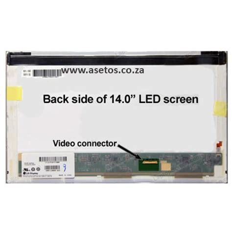 Led Panel Screen 14 0 Slim 30 Pin Atas Bawah N140bge E43 Rev C2 Hi 14 0 quot 30 pin led laptop screen with bottom right connector resolution 1366 768
