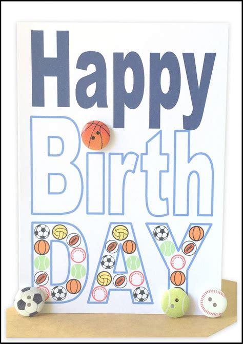 Sports Birthday Cards Greeting Cards Birthday Boy Lils Wholesale Handmade