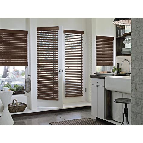 hunter douglas fans home depot hunter douglas parkland wood blinds